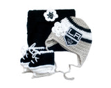 Kings Hockey Logo Baby Crochet Girls