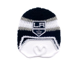 Kings Hockey Logo Baby Hat Crochet