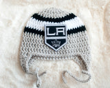 Kings Hockey Logo Baby Crochet Boys