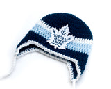 Maple Leafs Hockey Logo Baby Hat and Skates