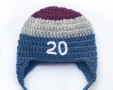 Colorado Avalanche Hockey Baby Hat