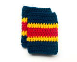 Panthers Hockey Logo Baby Crochet Socks