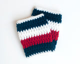 Team USA Hockey Logo Baby Boy Socks