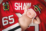 Blackhawks Hockey Blackhawks Logo Baby Crochet Hat