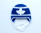 Team Canada Maple Leaf Hockey Royal Blue and White Hat