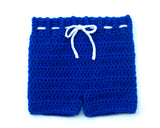 Canadiens Hockey Logo Baby Boy Crochet Pants