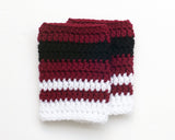 Arizona Coyotes Hockey Baby Crochet Socks