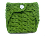 baby crochet green diaper cover