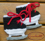 Baby Chicago Blackhawks Hockey Skates Crochet Carolina Hurricanes