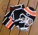 Baby Crochet Baby Boy Flyers Hockey Outfit