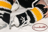 Baby Girl Bruins Penguins Hockey Socks Skates