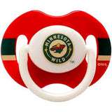 Crochet Baby Boy Minnesota Wild Red Hockey NHL Pacifier