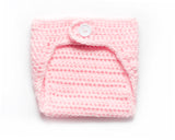 Baby Girl Pale Pink Crochet Diaper Cover