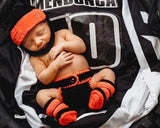 Baby Racing Motocross Helmet Diaper Cover & Boots Photography