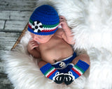 Italy Soccer Baby Hat Diaper Cover Socks & Shoes