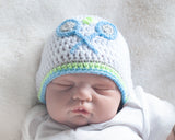 Baby Boy Tennis Crochet Hat