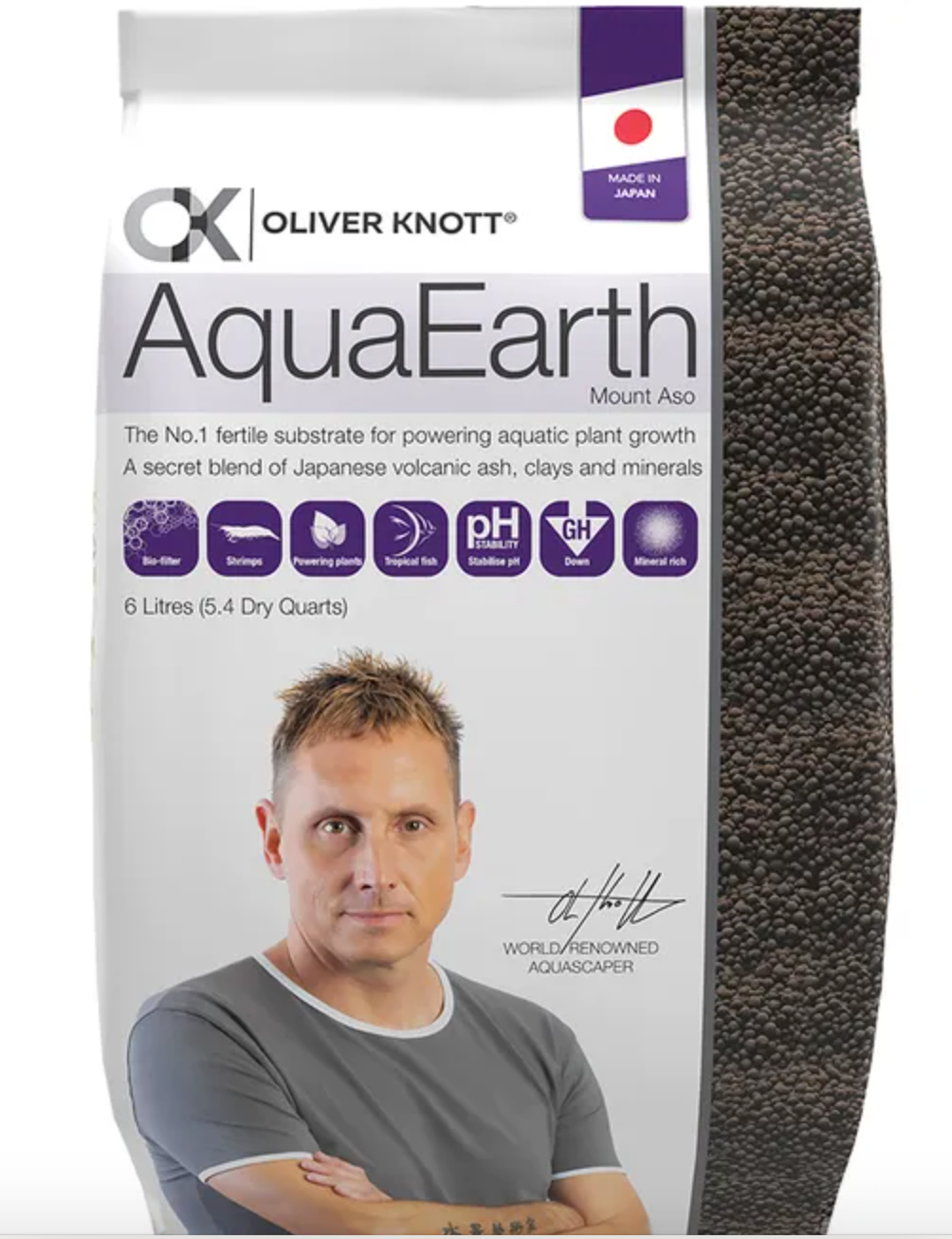 Oliver Knott AquaEarth Soil Substrate 6L