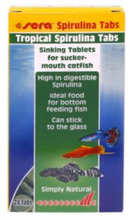 Load image into Gallery viewer, Sera Tropical Spirulina Tablets - Seven Fishes