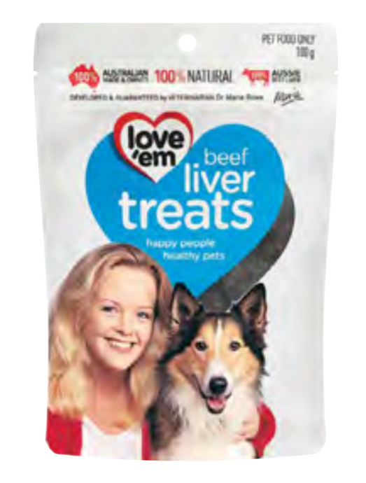 Love'Em Beef  Liver Treat - Seven Fishes