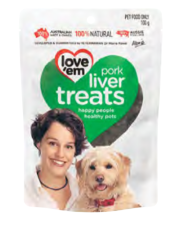 Love'Em Pork Liver Treats - Seven Fishes