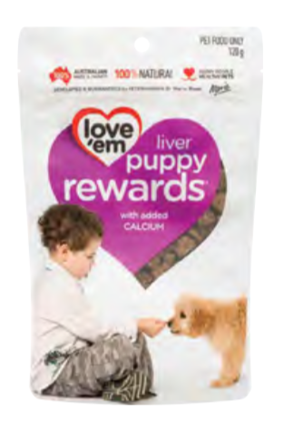 Love'Em Puppy Rewards Liver Treats - Seven Fishes