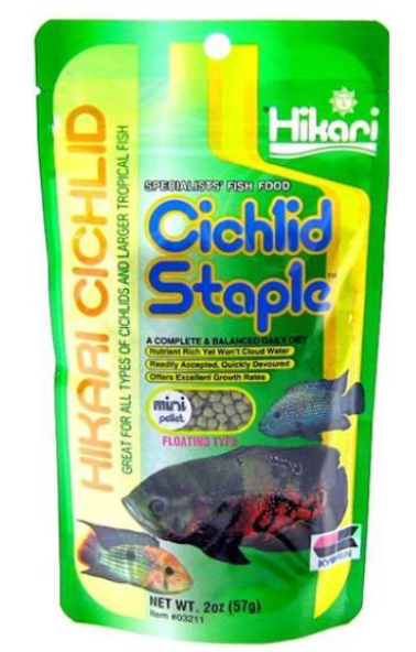 Hikari Cichlid Staple Mini 57g - Seven Fishes