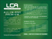 Load image into Gallery viewer, LCA All-in-One Liquid Fertiliser - Seven Fishes