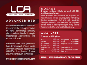 LCA Advanced Red Liquid Fertiliser - Seven Fishes