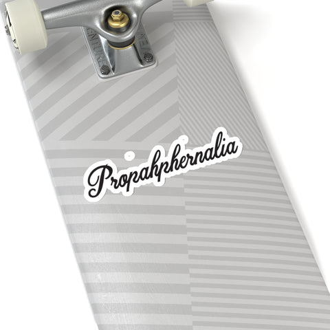 Propahphernalia Black Logo Sticker