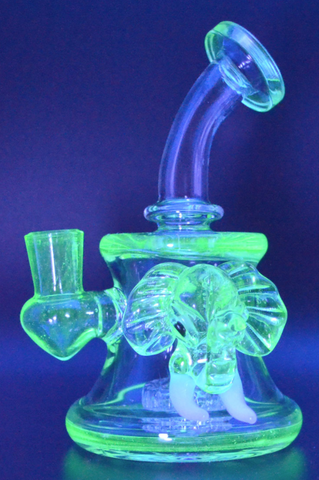 "Propahphernalia Elephant Head UV 6"" Rig w/ Showerhead Perc"