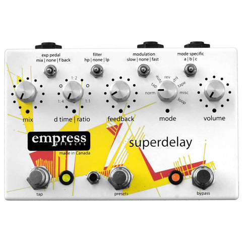 Superdelay