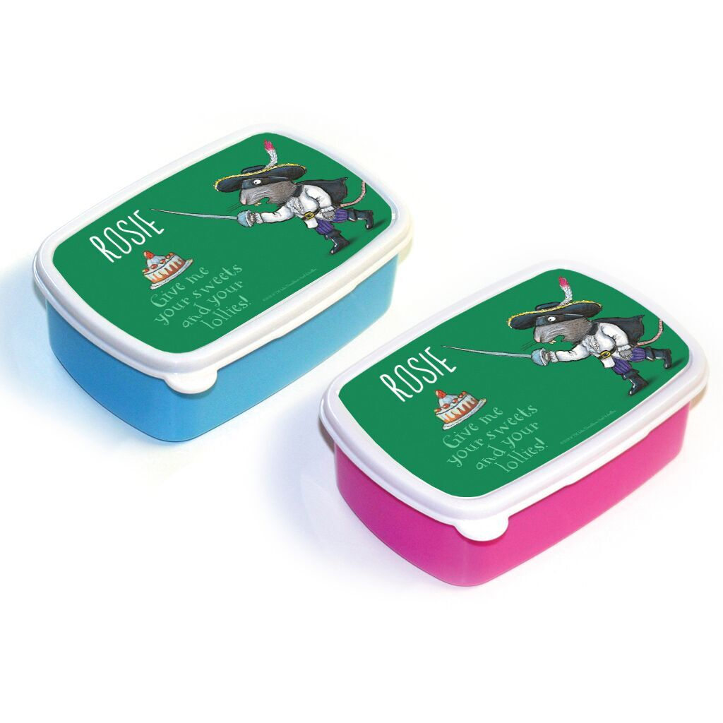 The Highway Rat - Personalised Lunch Boxes