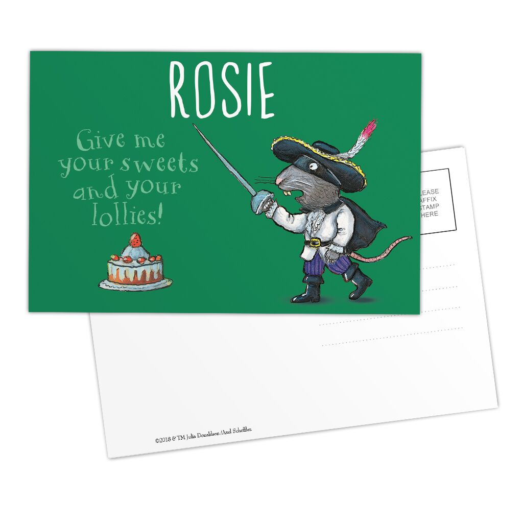 The Highway Rat - Personalised Postcards