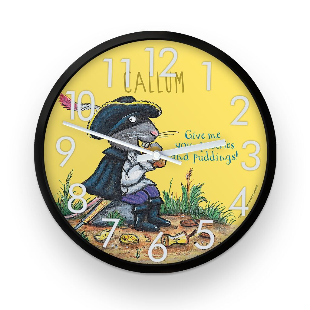 The Highway Rat - Personalised Clocks