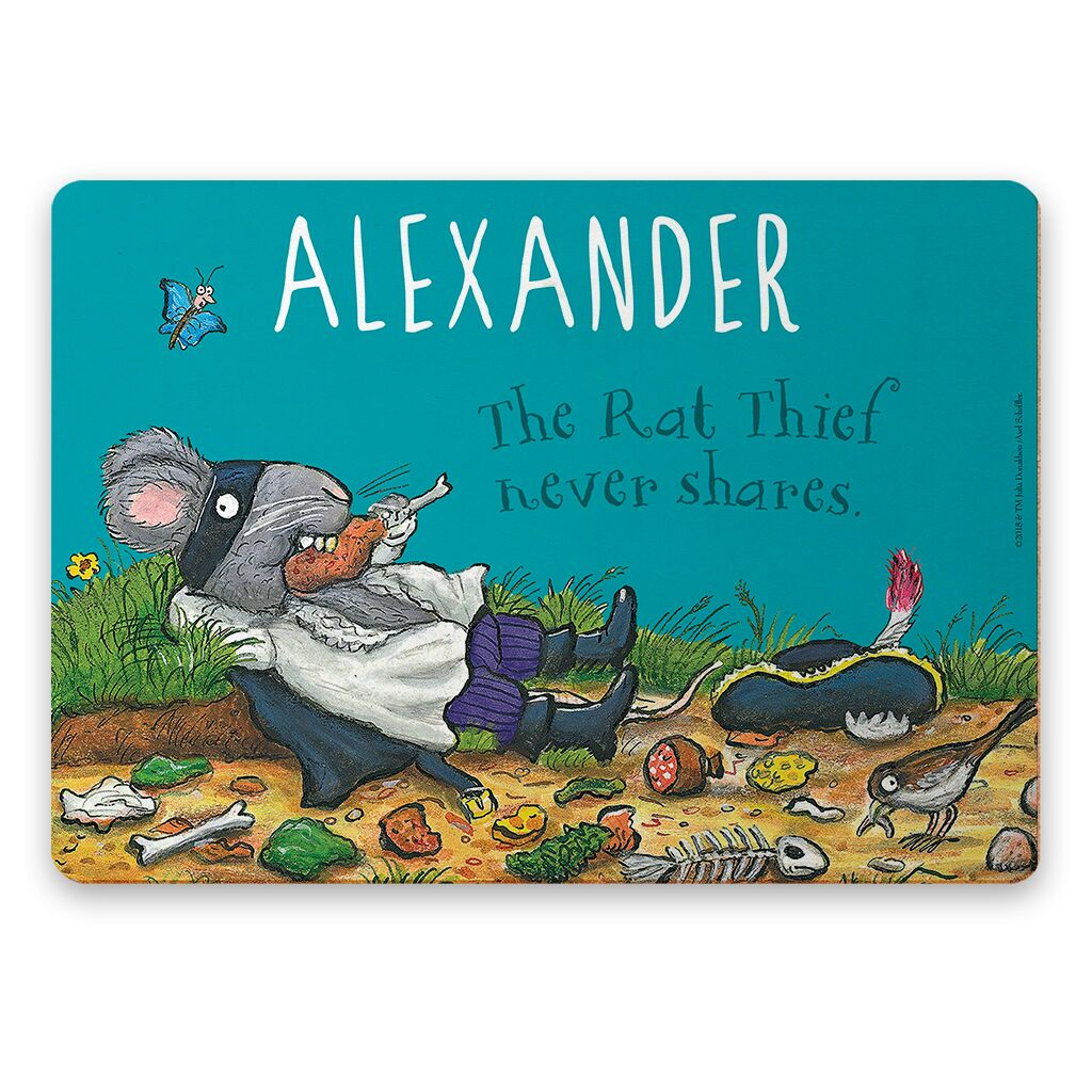 The Highway Rat - Personalised Placemats