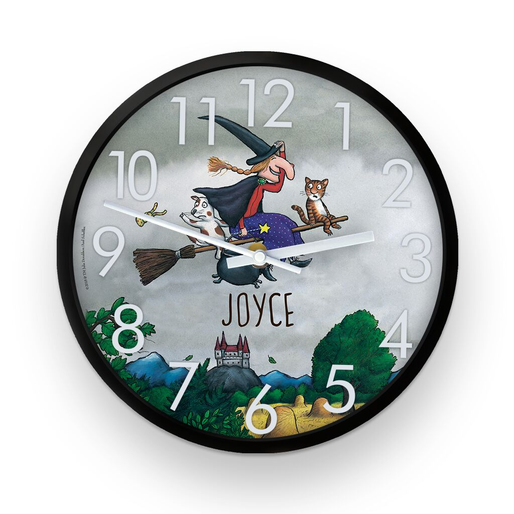 Room on the Broom - Personalised Clocks