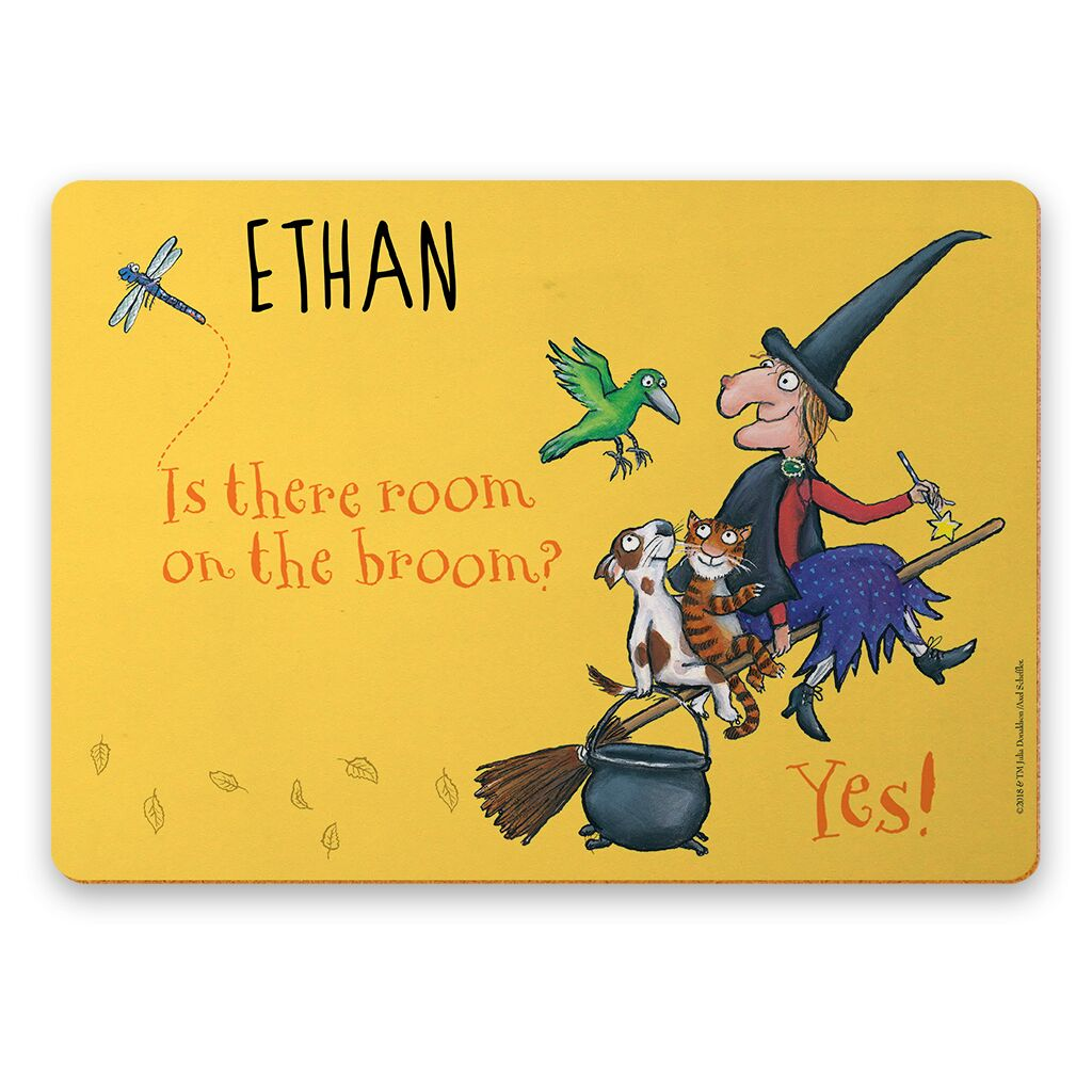 Room on the Broom - Personalised Placemats