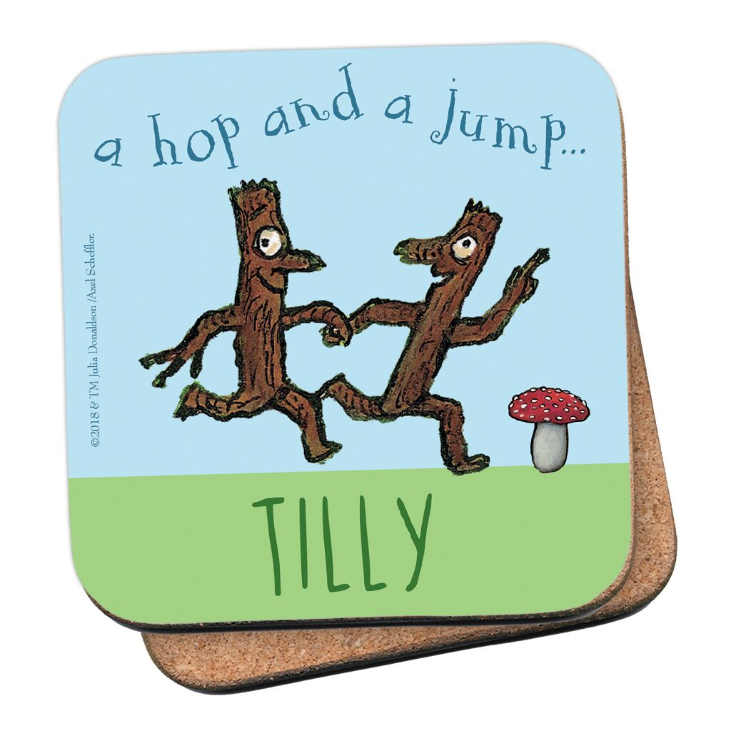 Stick Man - Personalised Coasters