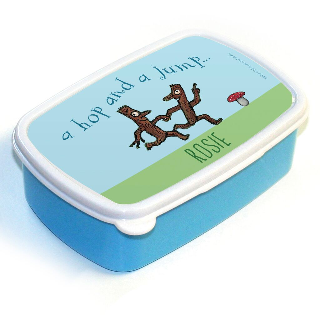 Stick Man - Personalised Lunch Boxes
