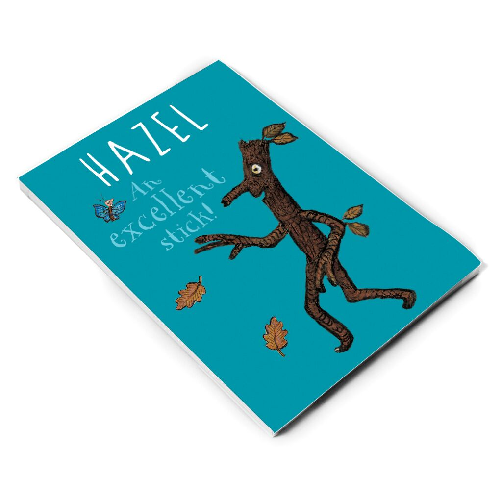 Stick Man - Personalised A5 Notepads