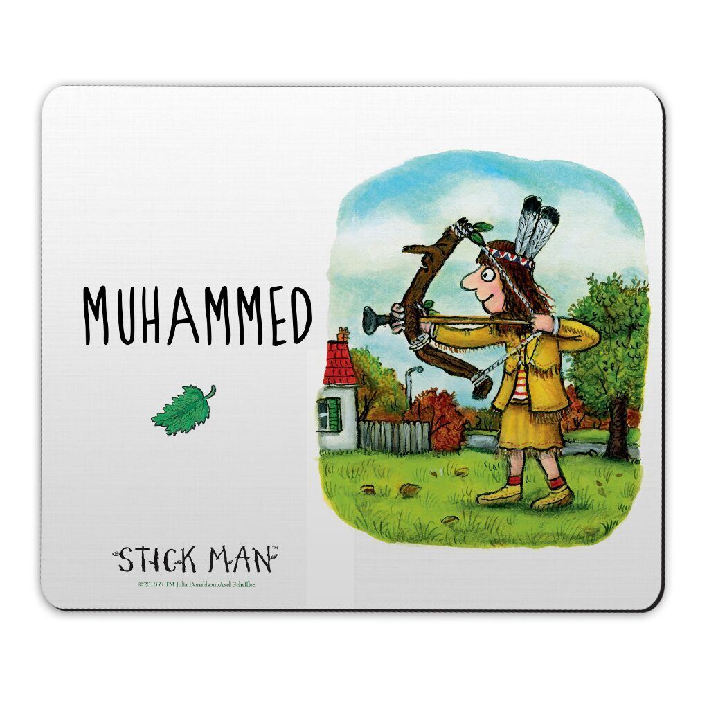 Stick Man - Personalised Door Plaques