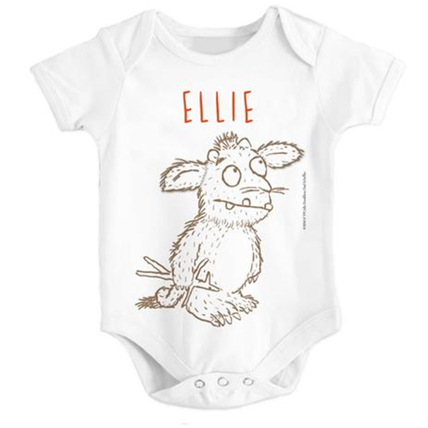 The Gruffalo - Personalised Baby Grows