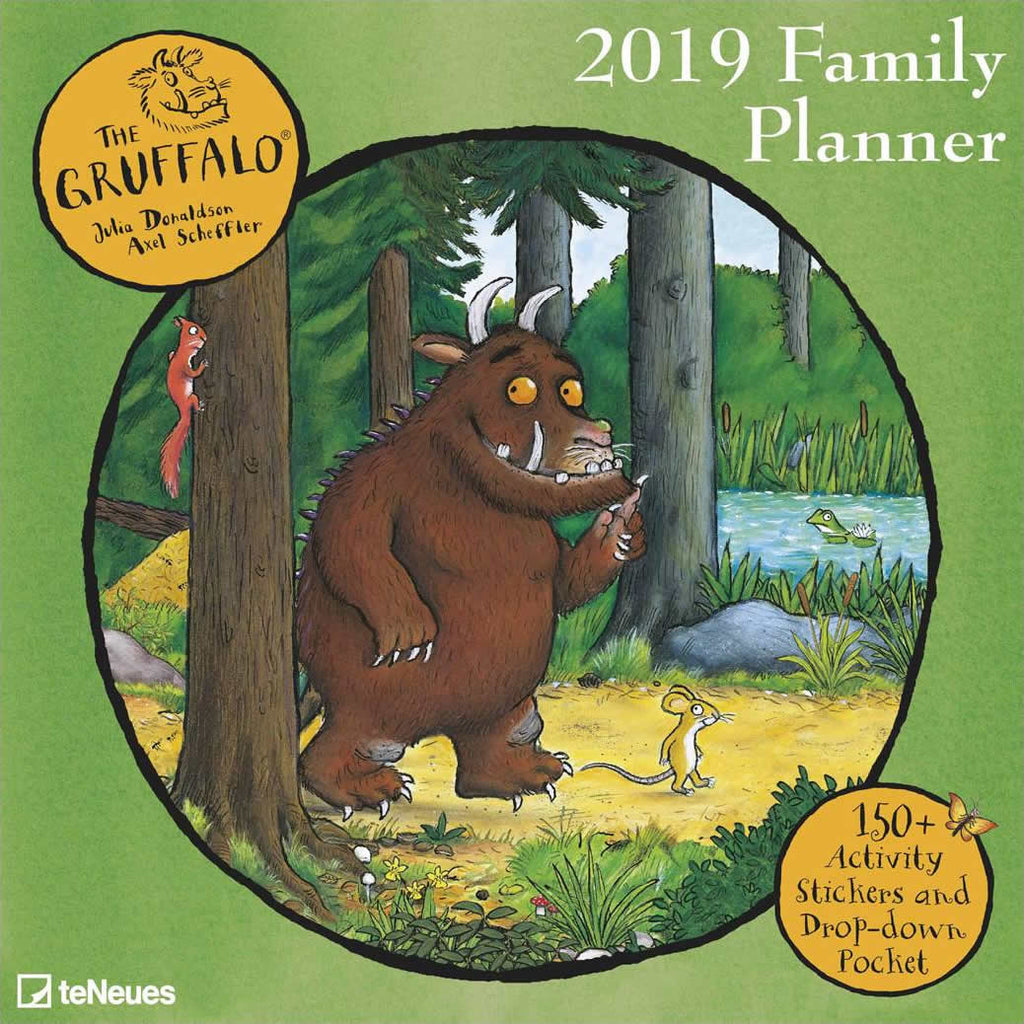 Gruffalo Family Planner 2019 Accessories