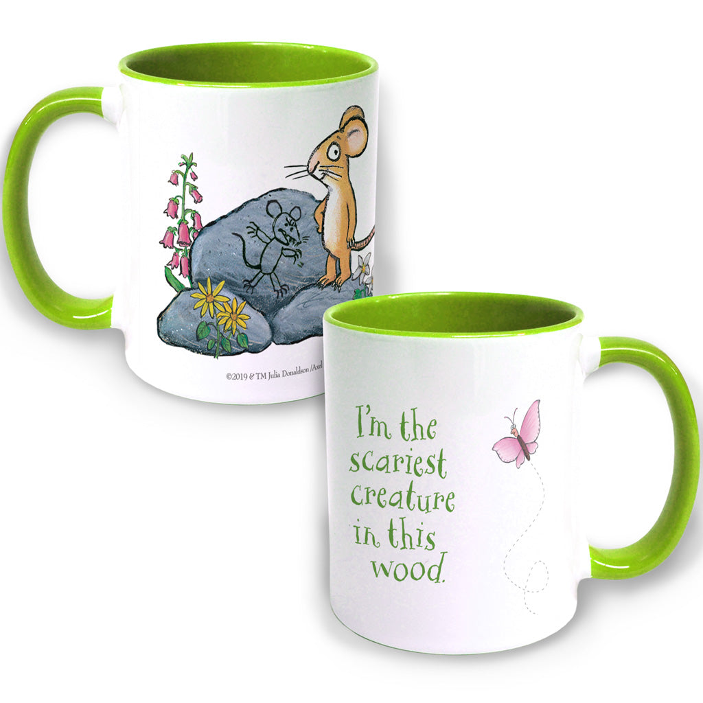 The Gruffalo 'The Scariest Creature' Coloured Insert Mug