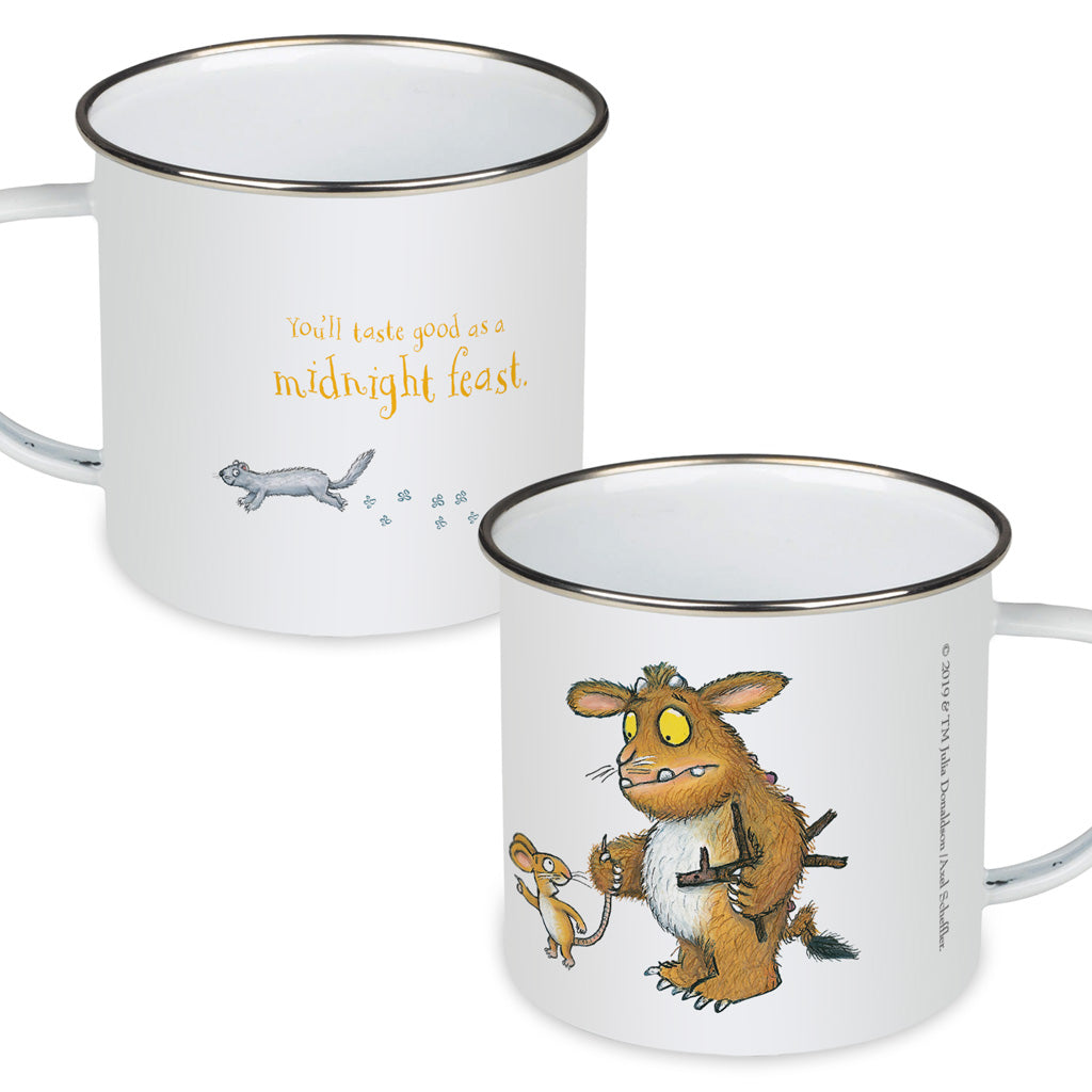 The Gruffalo's Child 'Midnight Feast' Enamel Mug