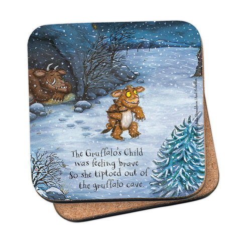 The Gruffalo's Child 'Feeling Brave' Coaster