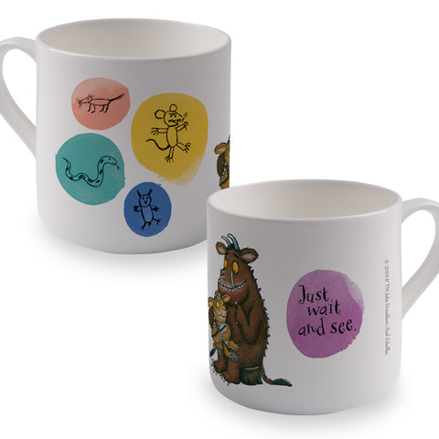 The Gruffalo's Child 'Just Wait and See' Bone China Mug