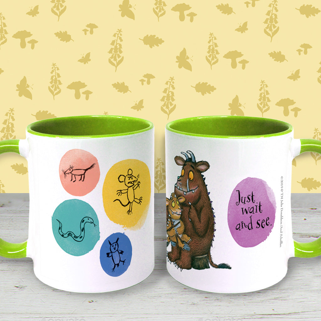 The Gruffalo's Child 'Just Wait and See' Coloured Insert Mug