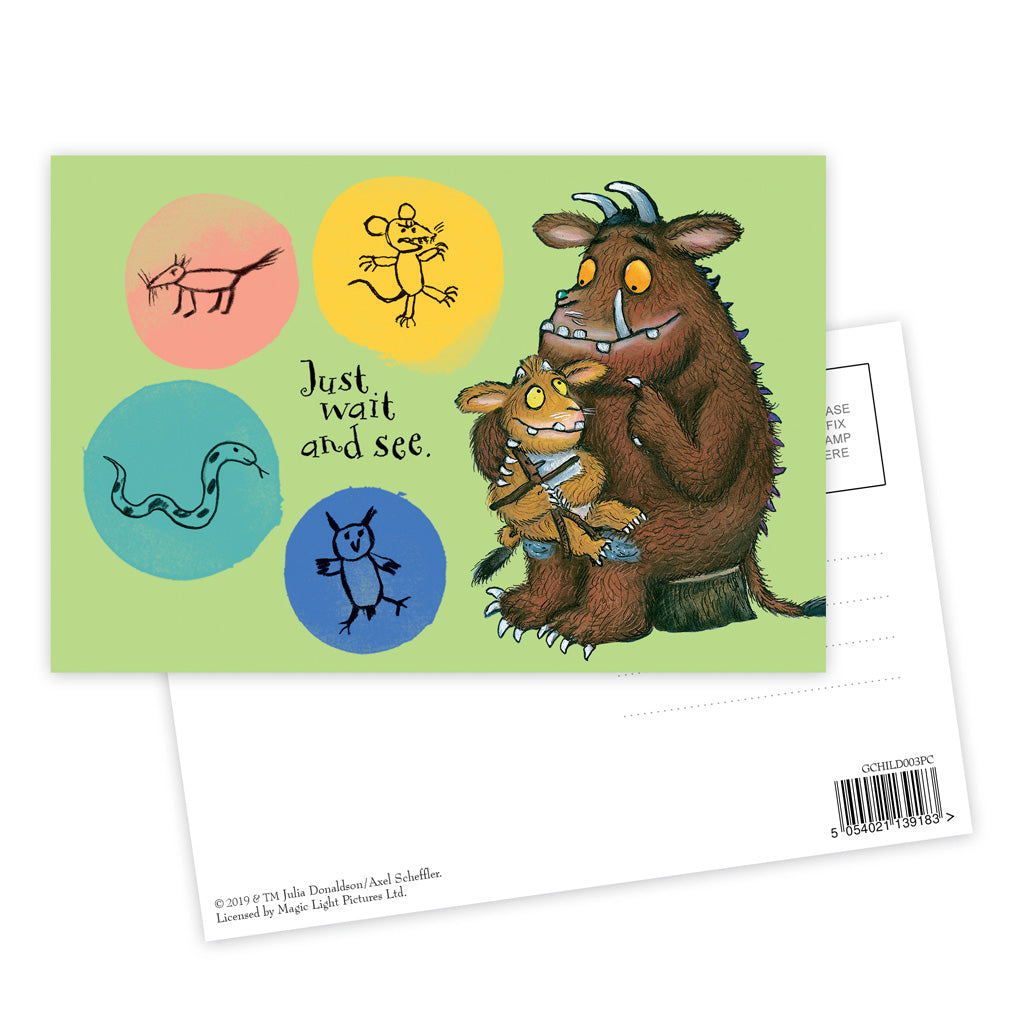 The Gruffalo's Child 'Just Wait and See' Postcard