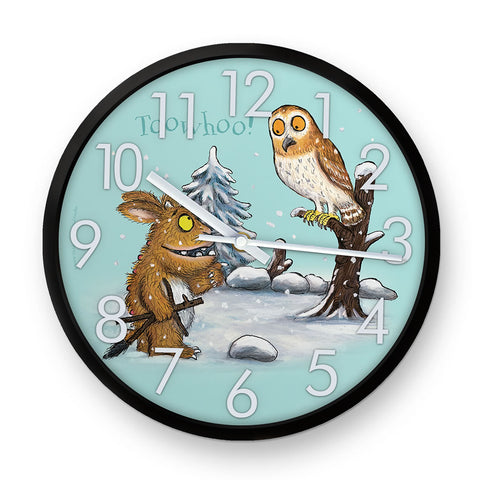 The Gruffalo's Child 'Toowhoo!' Clock